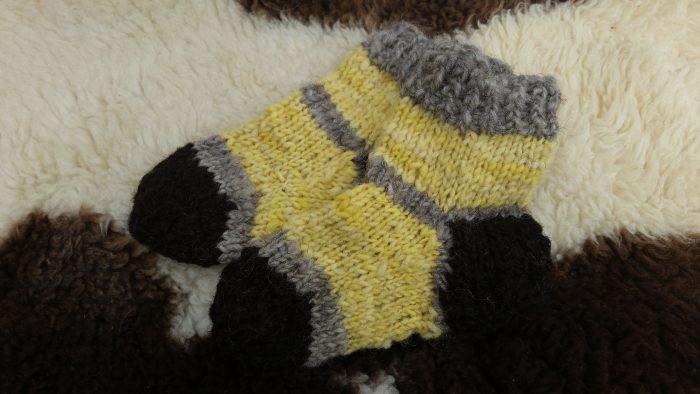 Kuschelige Socken Gr. 29/30