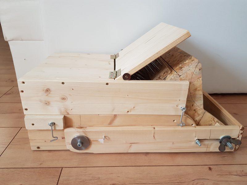 unvollständiger Prototyp des Wolfer Woolpicker