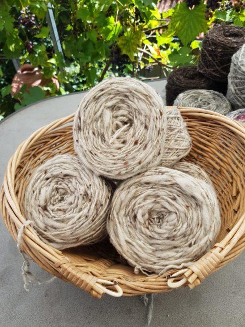 Schurwolle Merino Tweed